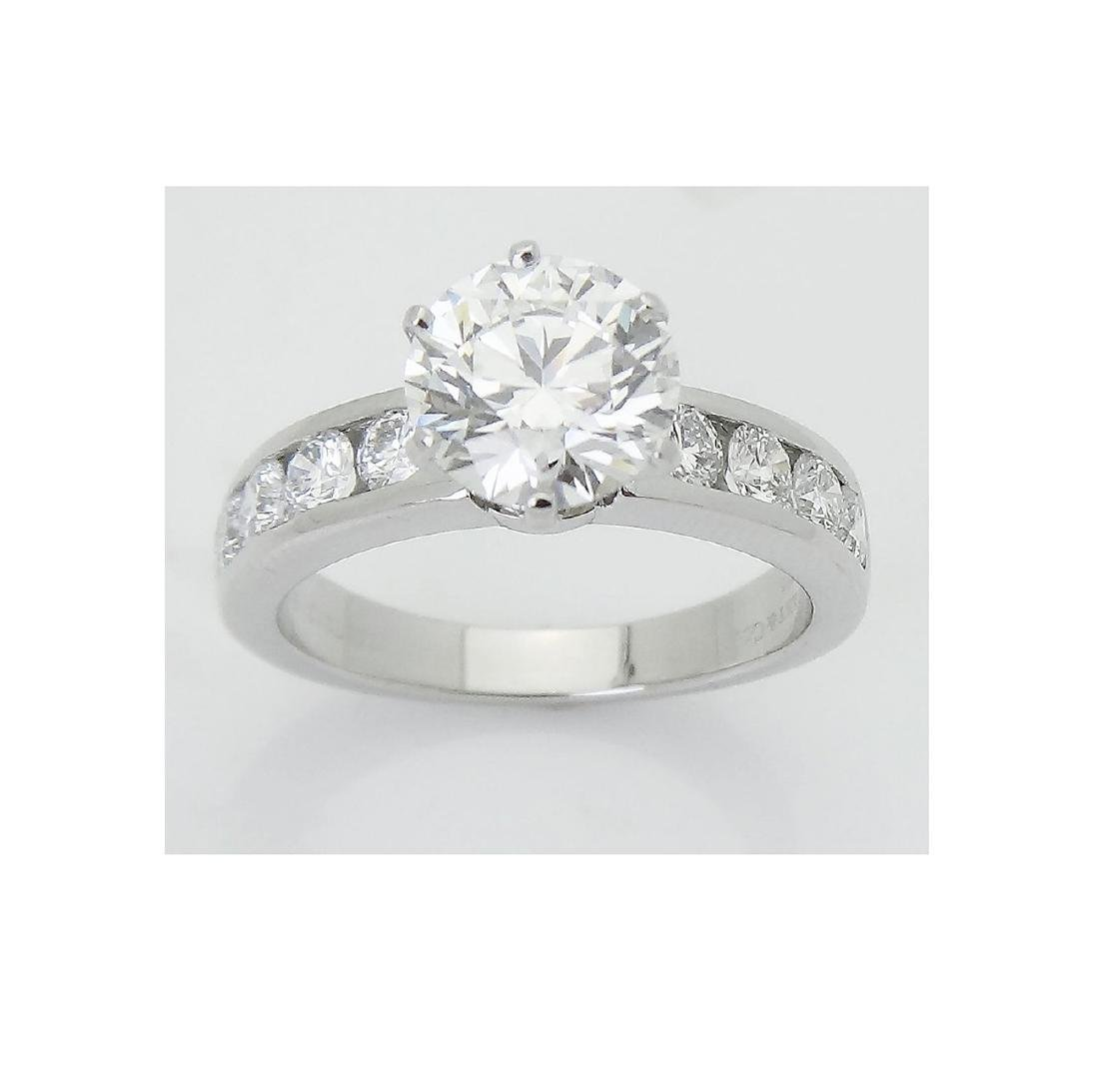 Tiffany & Co 950 2.19 VVS1 G Engagement Ring w/ GIA