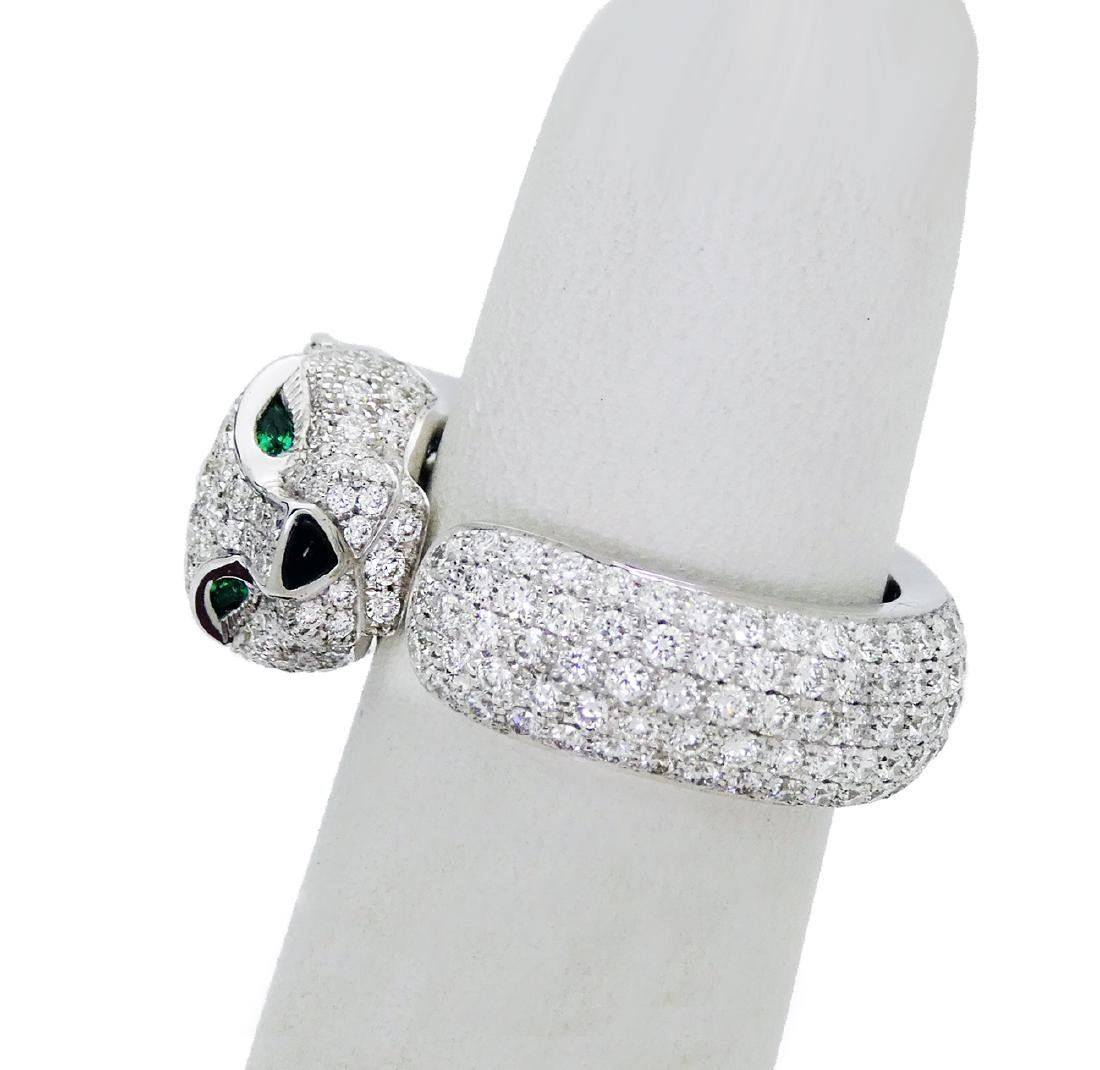 Cartier Panthere de Cartier Diamonds, Emeralds, Onyx - 4
