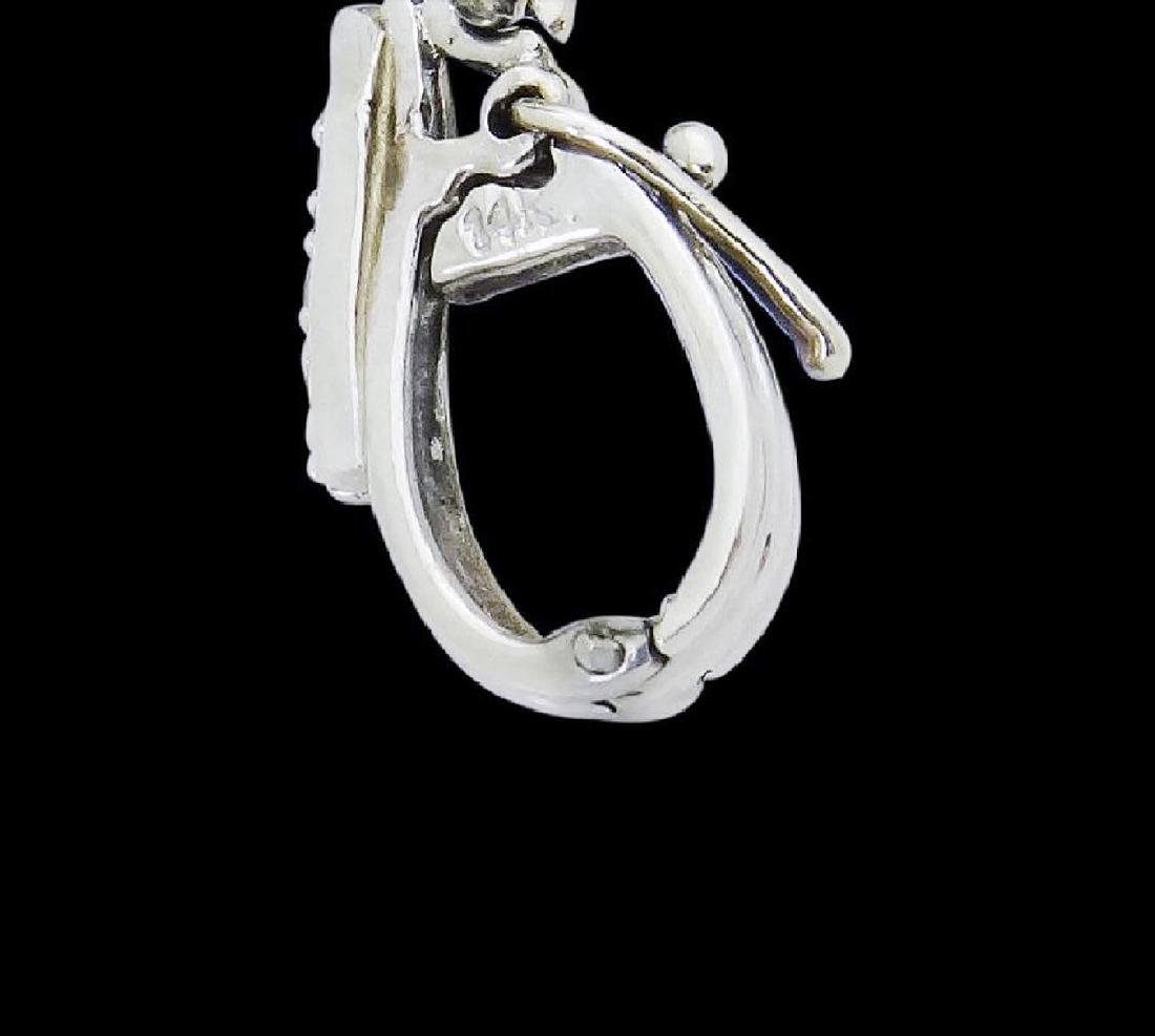 14k Gold 9.05 TCW Diamond & Tanzanite Pendant Necklace - 4