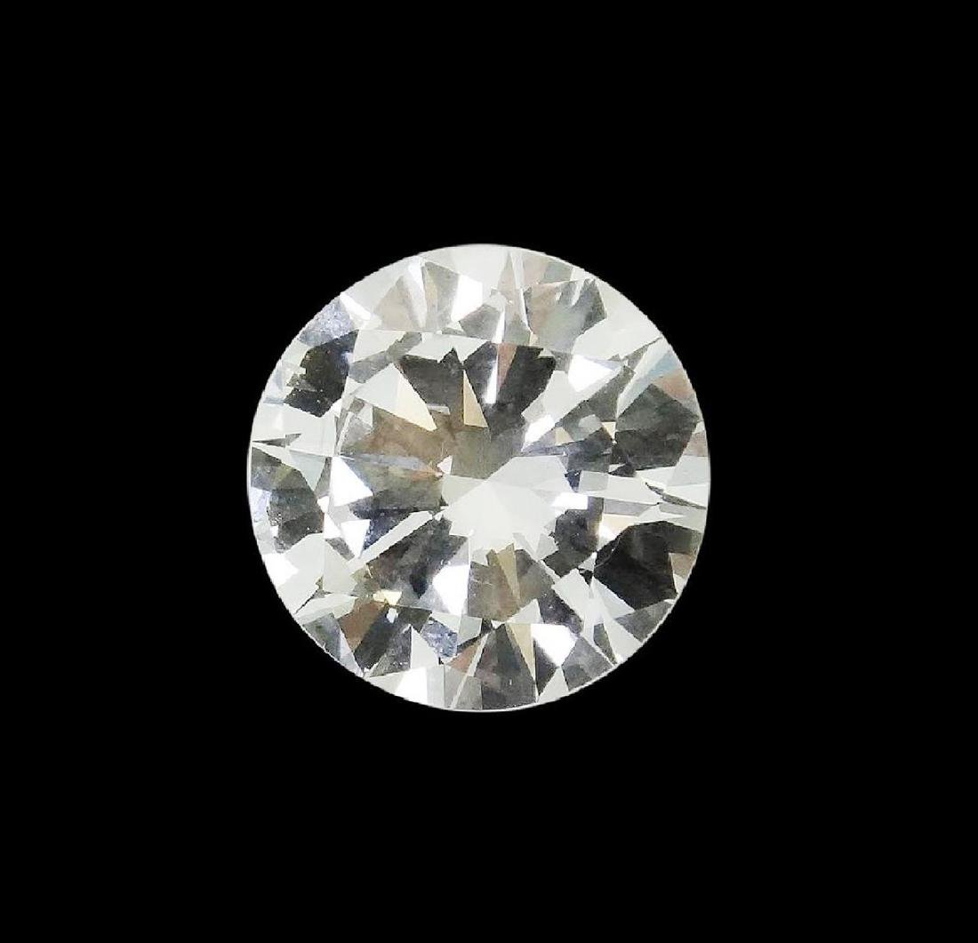 6.01 CARAT BRILLIANT ROUND GIA CERTIFIED DIAMOND VVS2