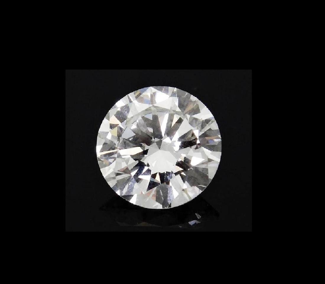 6.01 CARAT BRILLIANT ROUND GIA CERTIFIED DIAMOND VVS2 - 2