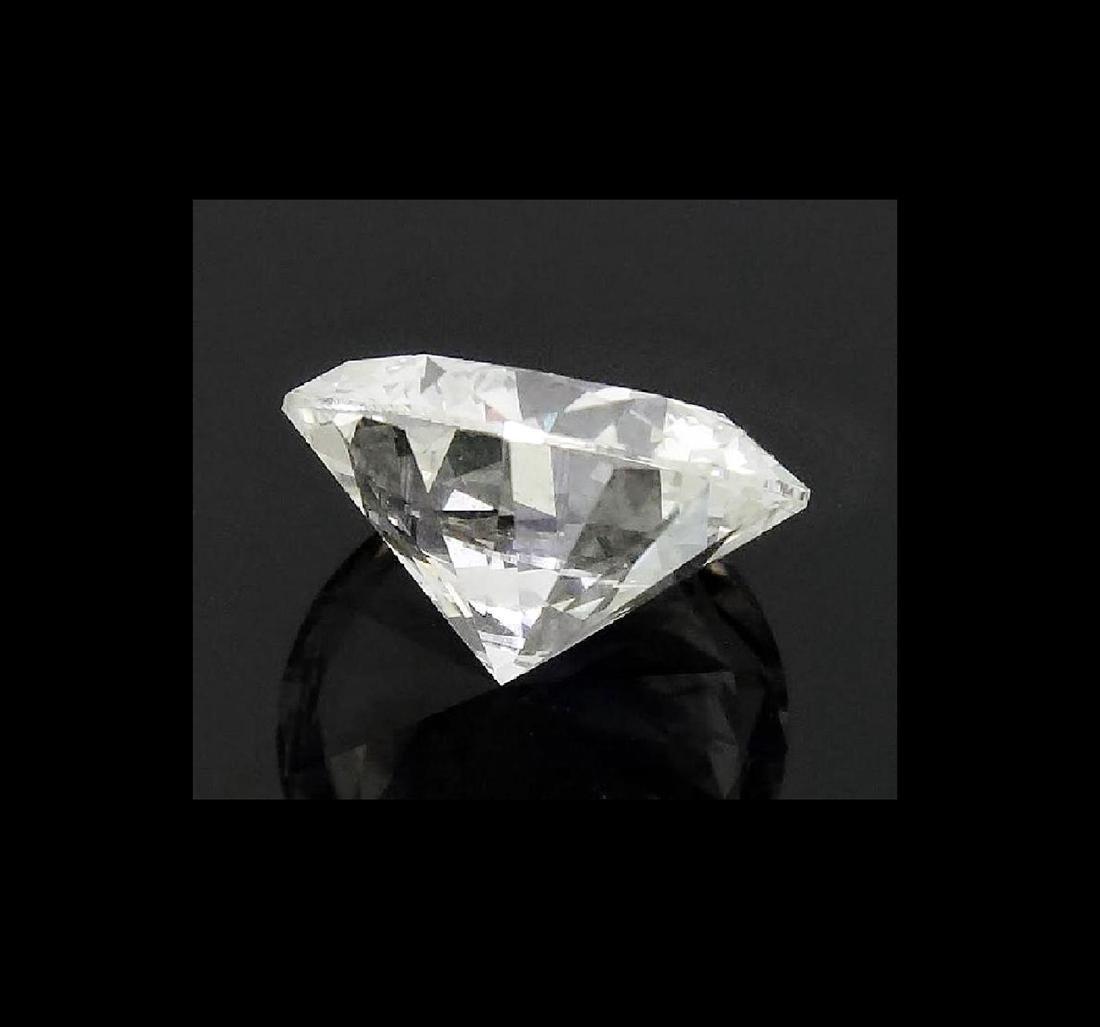 6.01 CARAT BRILLIANT ROUND GIA CERTIFIED DIAMOND VVS2 - 4