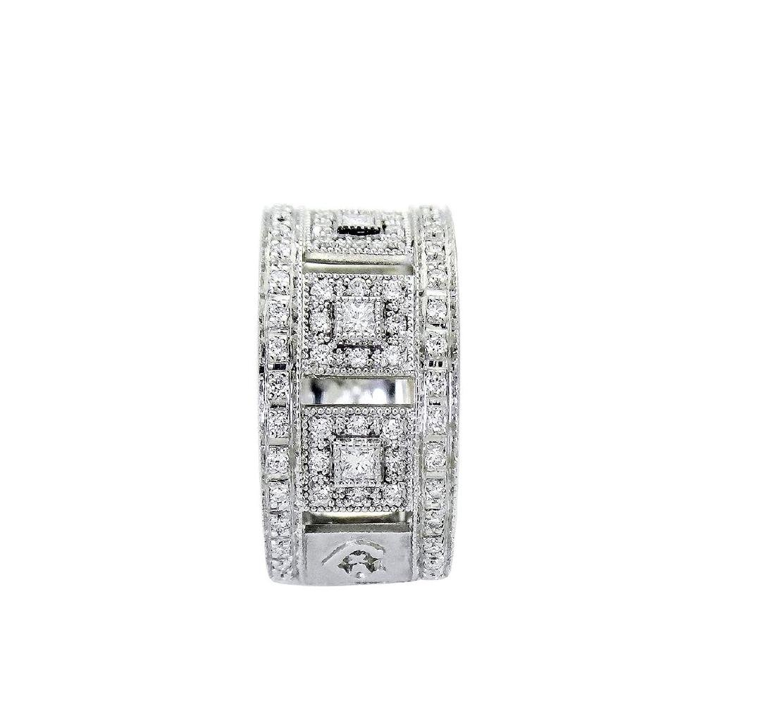 Charriol 18K White Gold Diamond ring size 6.5 - 3