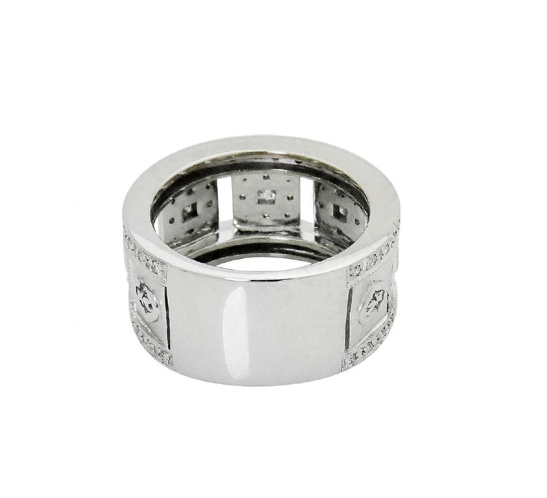 Charriol 18K White Gold Diamond ring size 6.5 - 4
