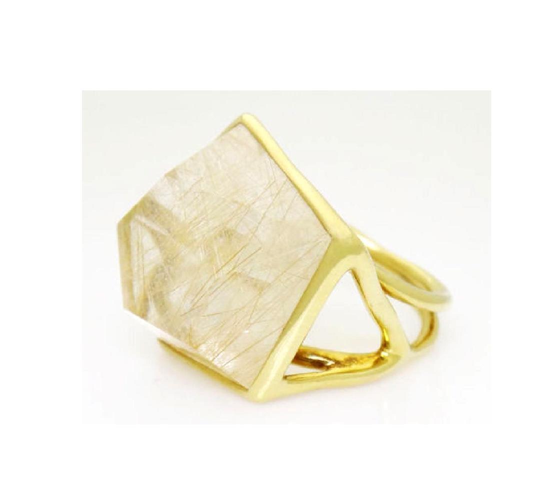 Ippolita 18k Yellow Gold & Large Quartz Rock Candy - 2