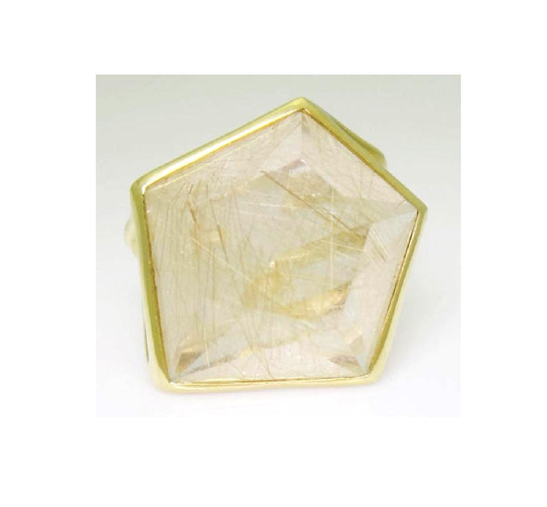 Ippolita 18k Yellow Gold & Large Quartz Rock Candy - 3