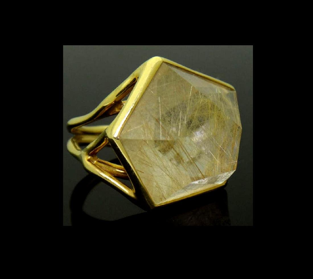 Ippolita 18k Yellow Gold & Large Quartz Rock Candy - 5