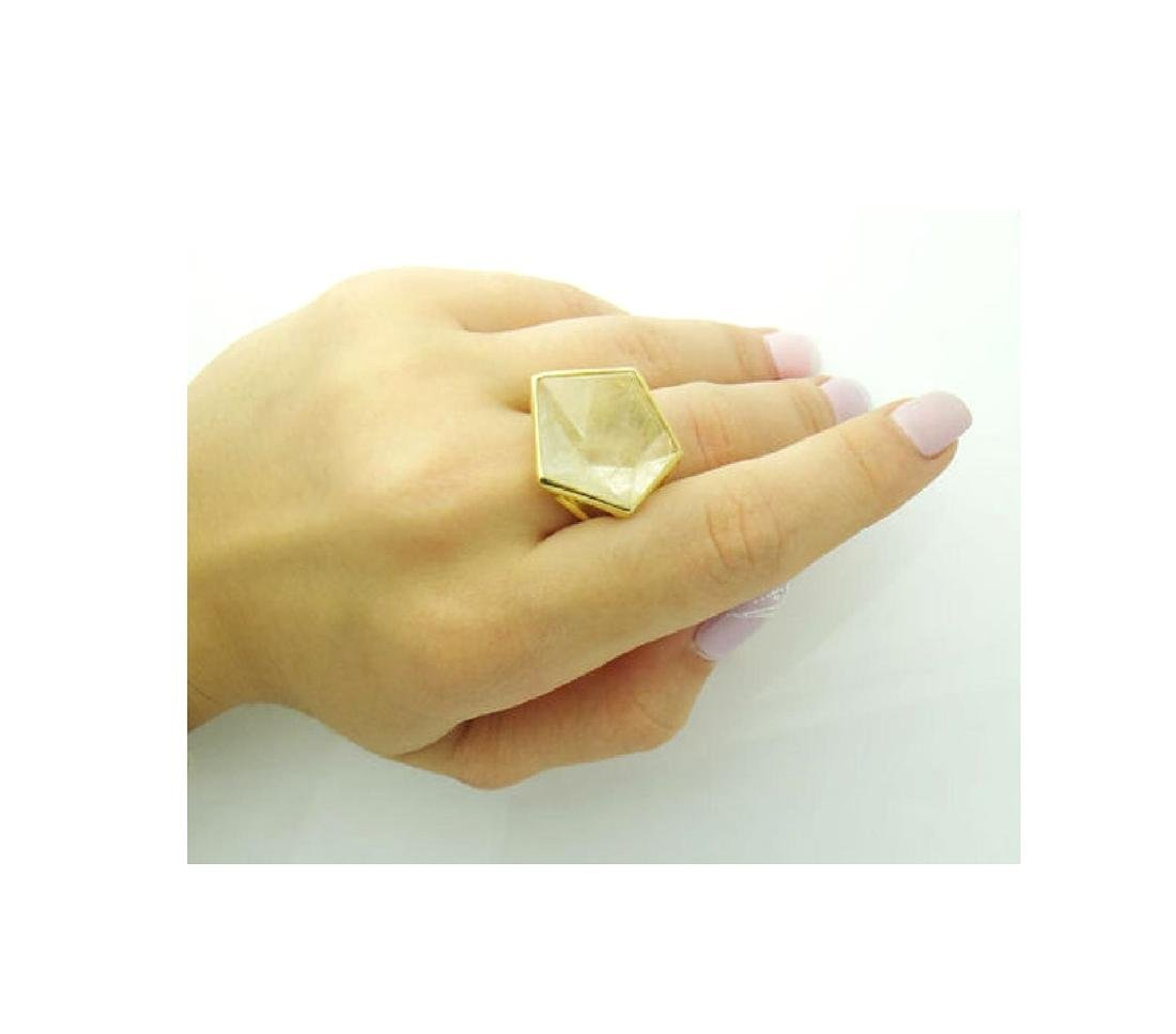Ippolita 18k Yellow Gold & Large Quartz Rock Candy - 7