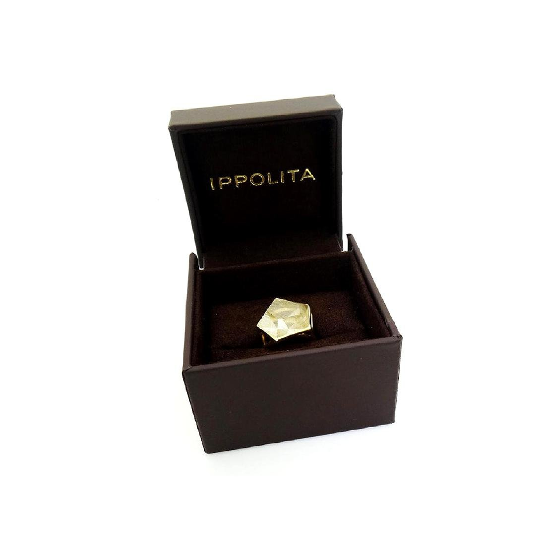 Ippolita 18k Yellow Gold & Large Quartz Rock Candy - 8