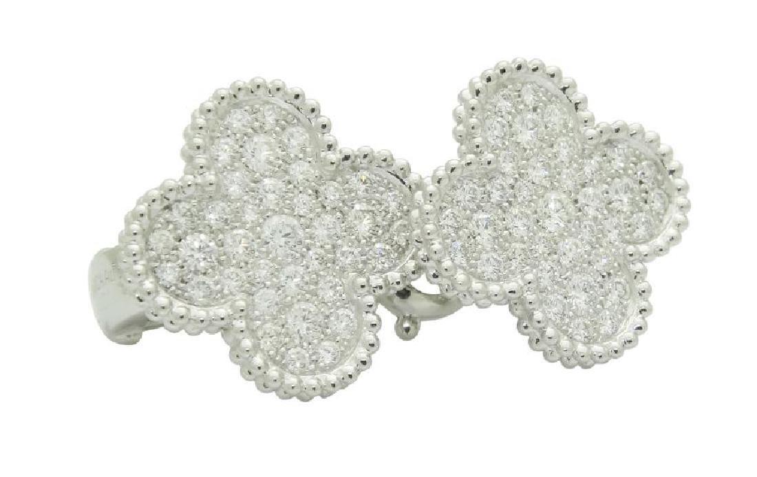 Van Cleef & Arpels 18k Magic Alhambra Diamond Earrings - 3