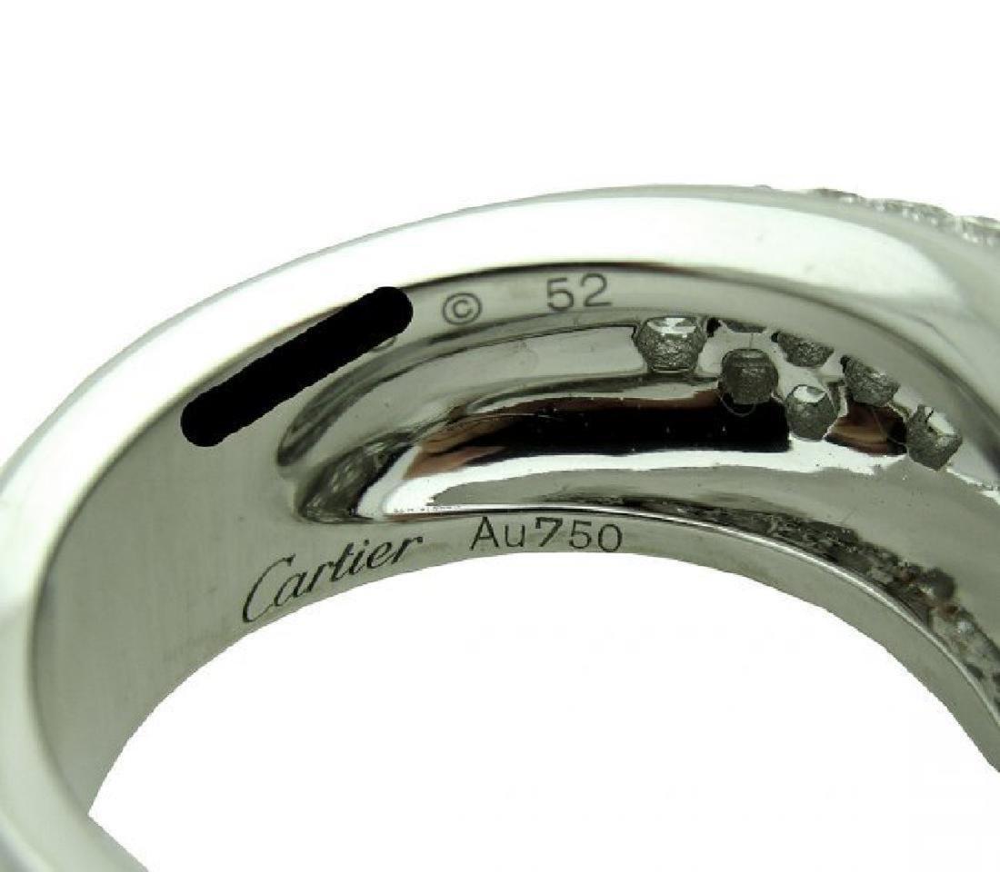 Cartier Panthere 18k Gold Diamond Emerald Onyx Ring - 3