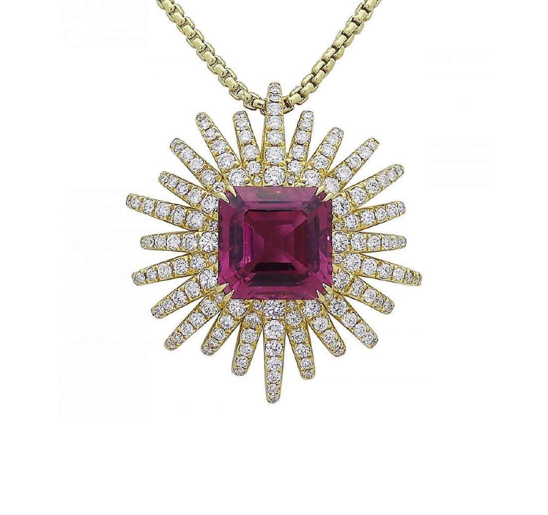 David Yurman 18k Starburst Collection Necklace