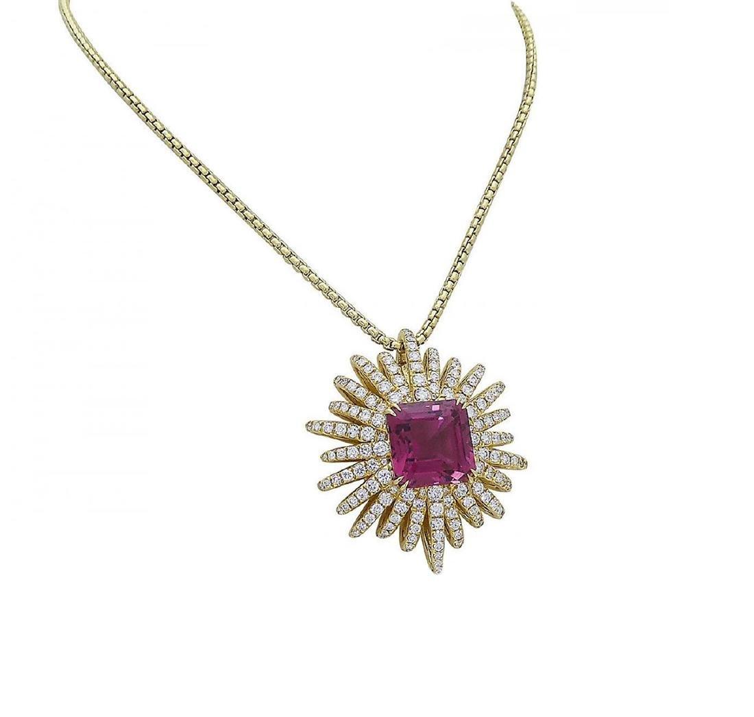 David Yurman 18k Starburst Collection Necklace - 2