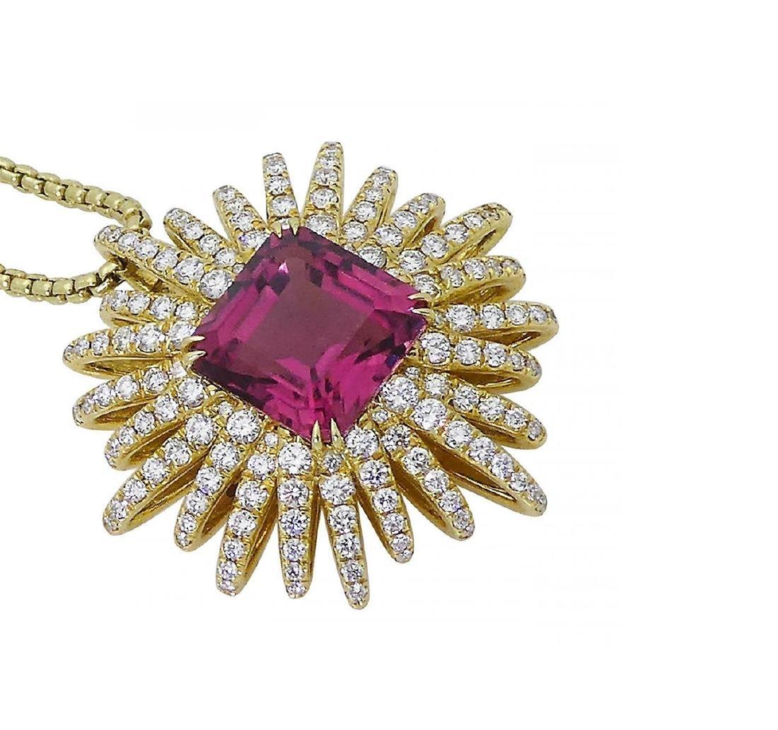 David Yurman 18k Starburst Collection Necklace - 4