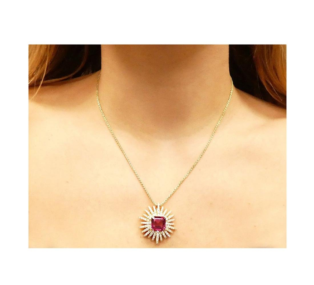 David Yurman 18k Starburst Collection Necklace - 5