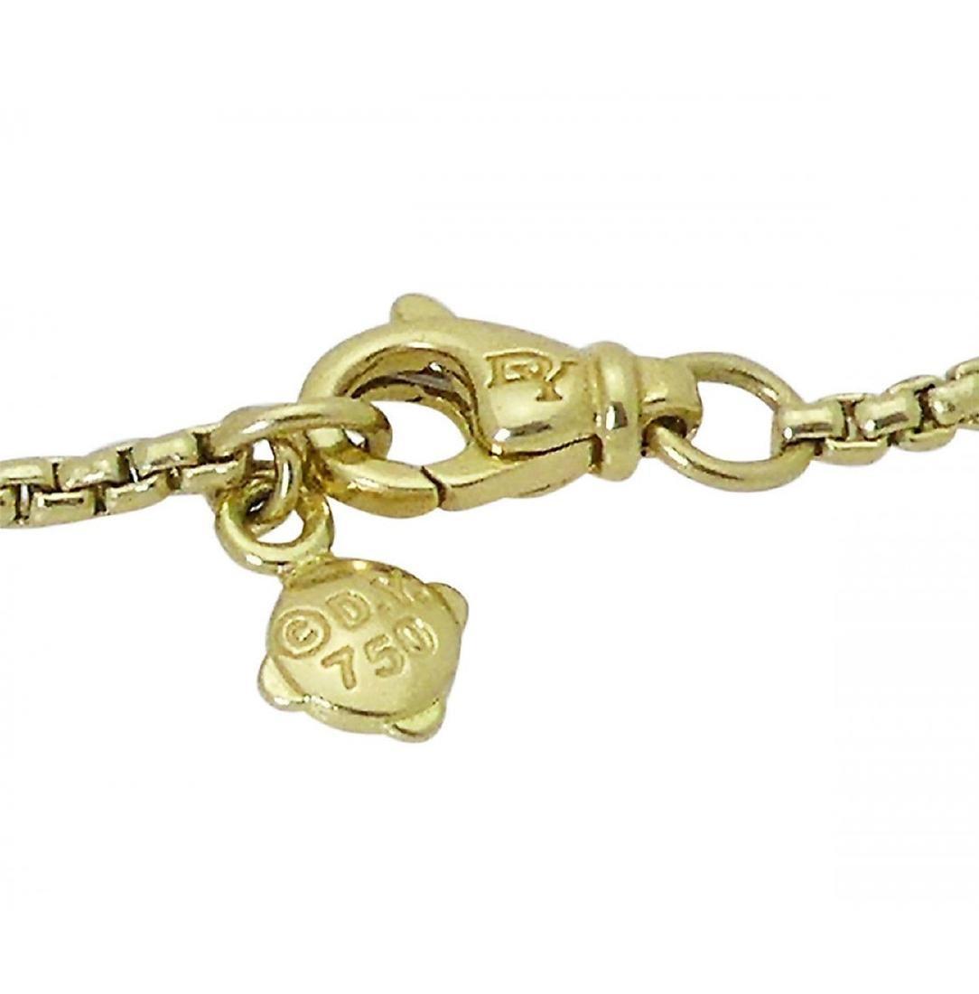 David Yurman 18k Starburst Collection Necklace - 6
