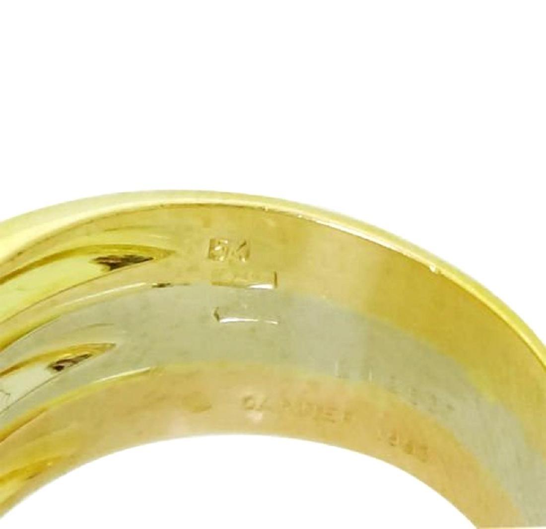 Estate Cartier Tri Color 18k Gold 0.45 Carats TCW VS/F - 3