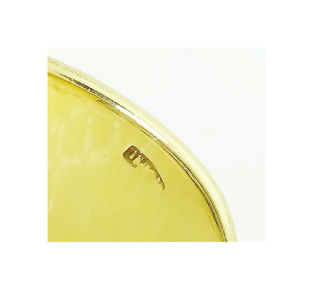 Buccellati 18k Gold 1.93CT Diamond 3 Sapphire Open Back - 5