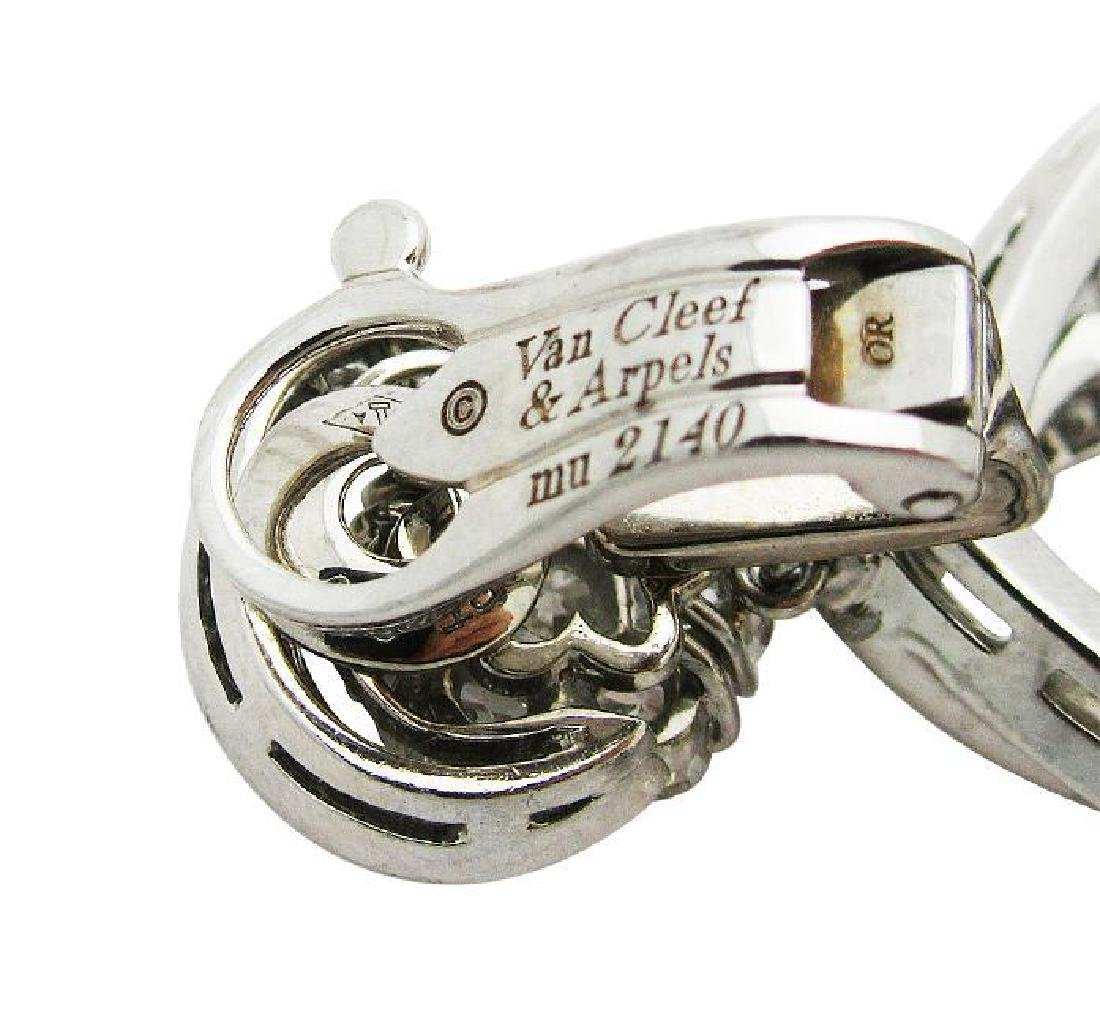Van Cleef & Arpel Snowflake Diamond Lg Clip-On Earrings - 3