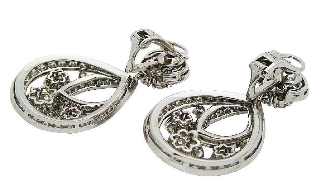Van Cleef & Arpel Snowflake Diamond Lg Clip-On Earrings - 4