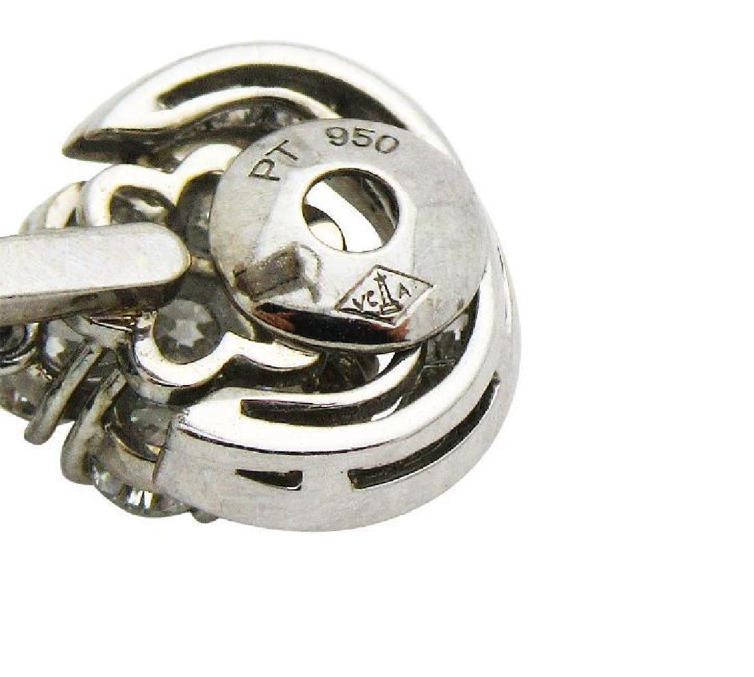 Van Cleef & Arpel Snowflake Diamond Lg Clip-On Earrings - 5