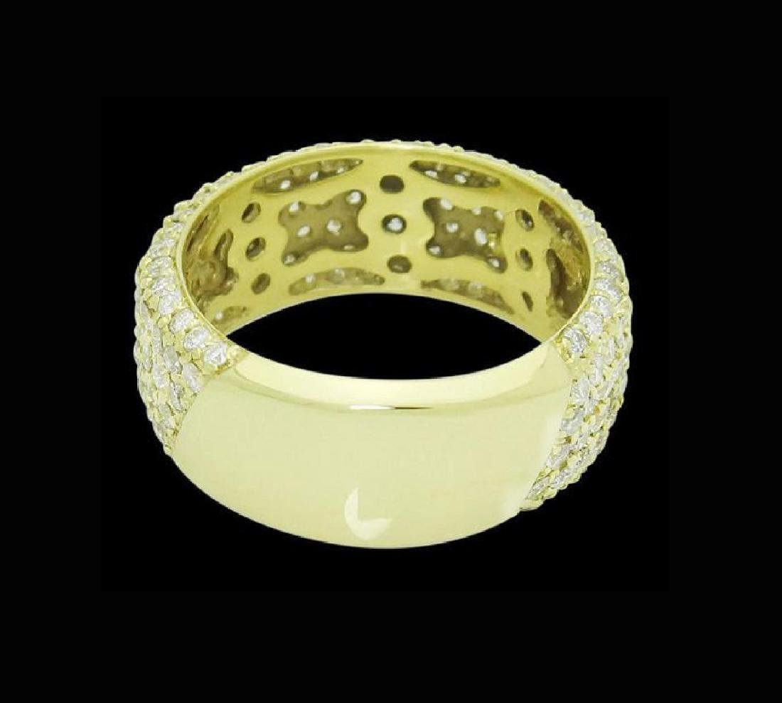 Sonia B. 18k Gold & 3.30 TCW VS Clarity H Color Ring
