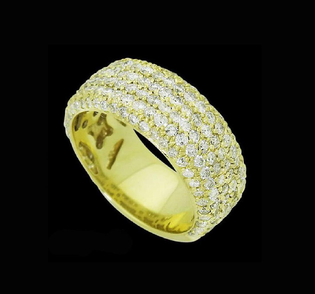Sonia B. 18k Gold & 3.30 TCW VS Clarity H Color Ring - 2