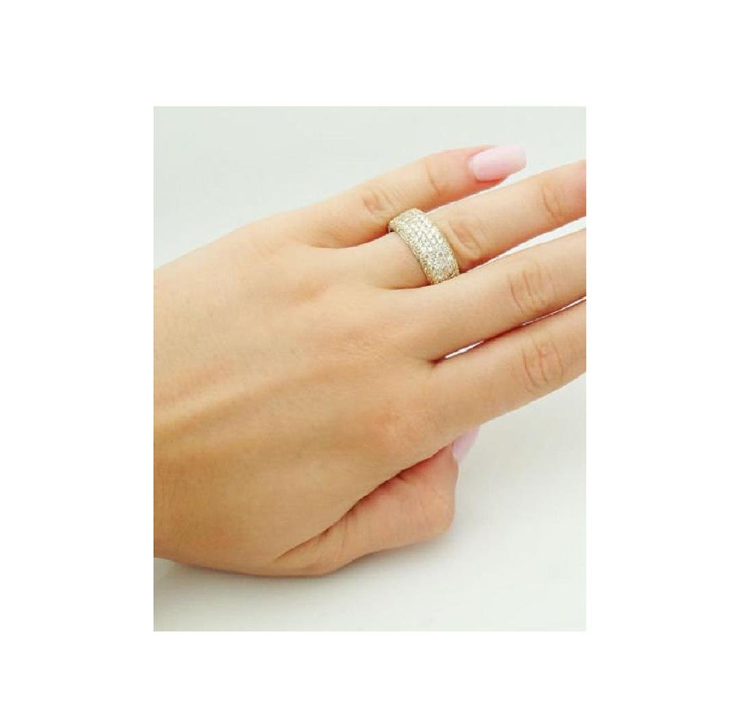 Sonia B. 18k Gold & 3.30 TCW VS Clarity H Color Ring - 4