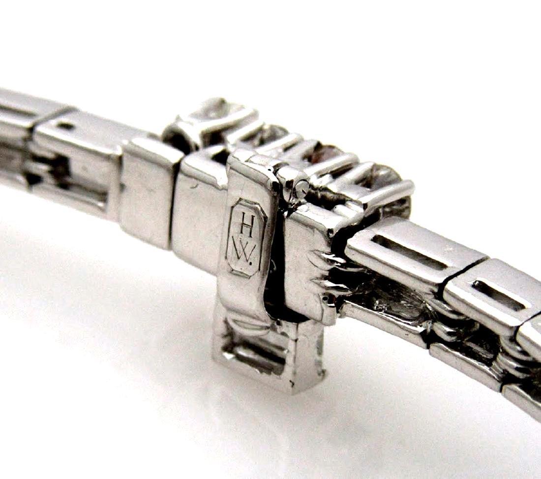 Vintage Harry Winston Platinum 20 TCW Diamond Bracelet - 2