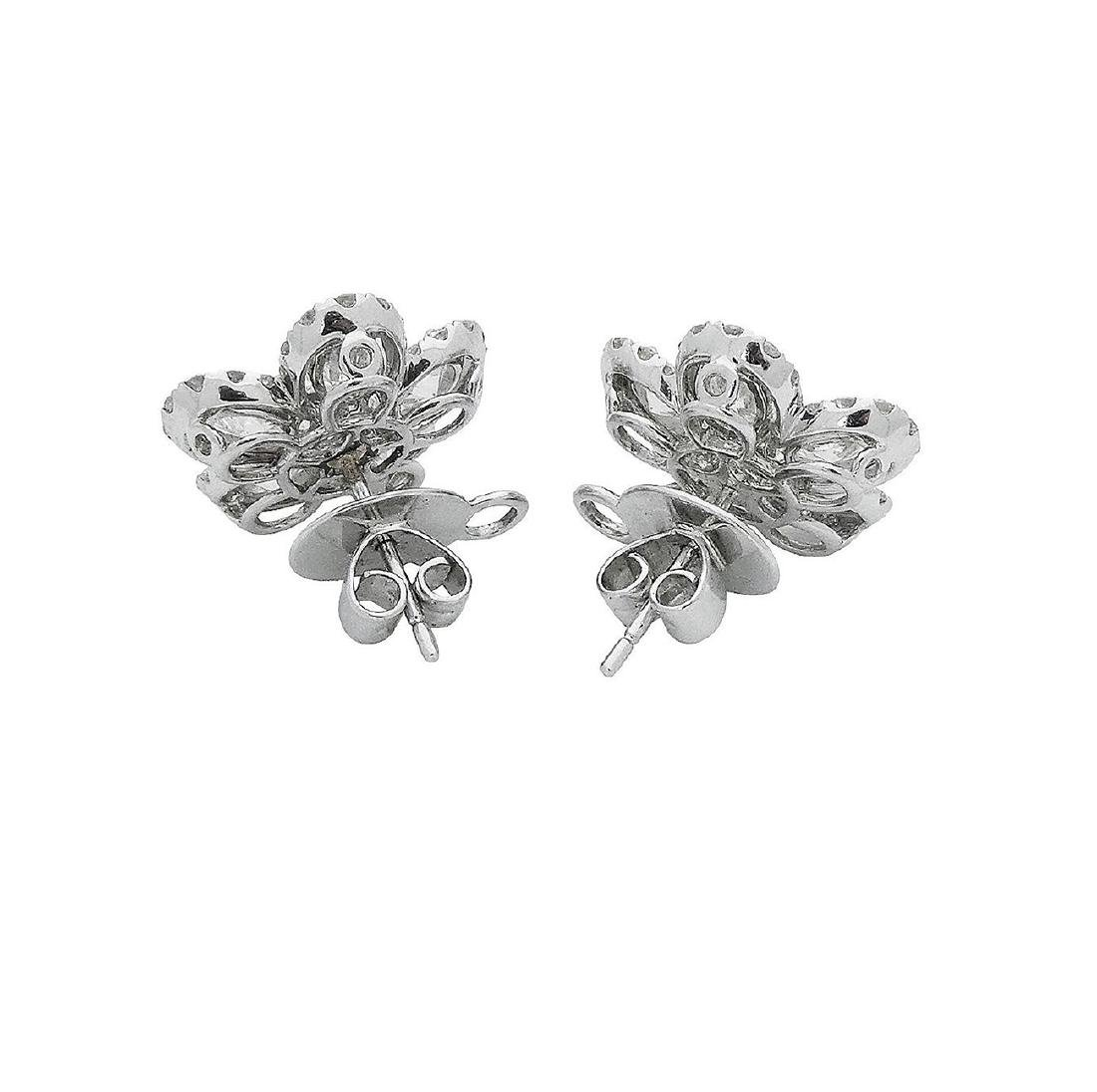 18k  8.00 TCW Brilliant Diamond Set Earring Necklace - 6