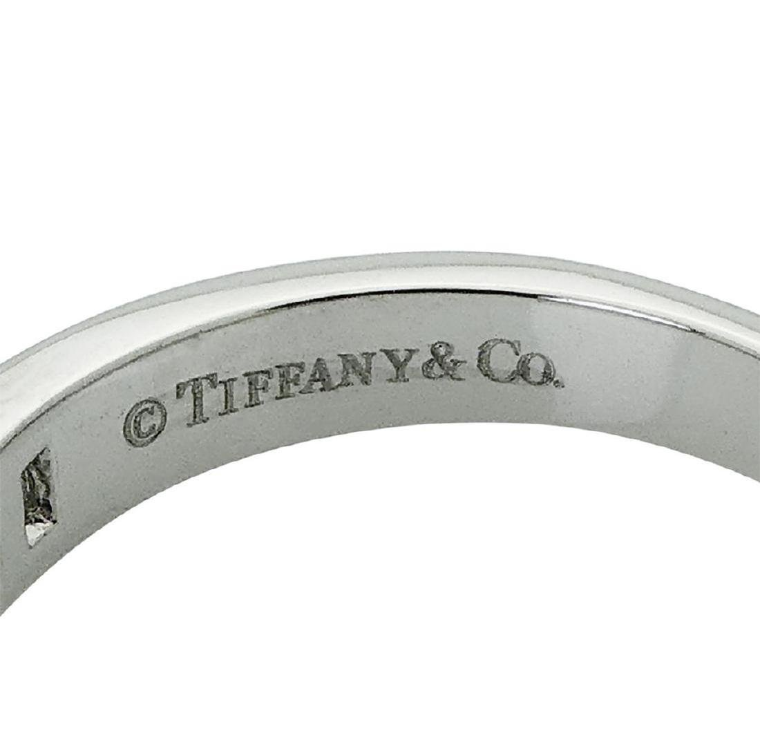 Tiffany & Co PT 0.66 TCW Round & Baguette Wedding Band - 4