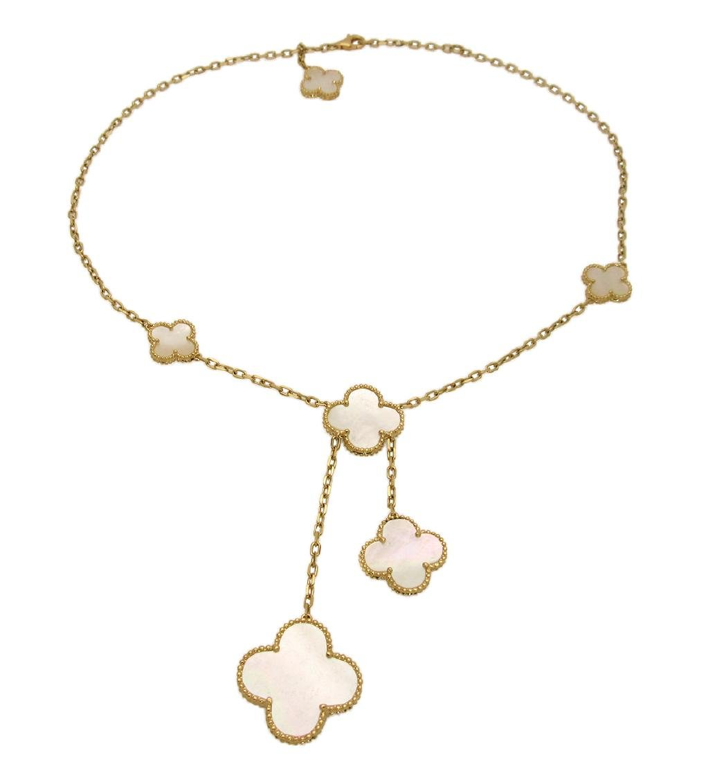 Van Cleef & Arpels Magic Alhambra 18k Yellow Gold 6 Mot