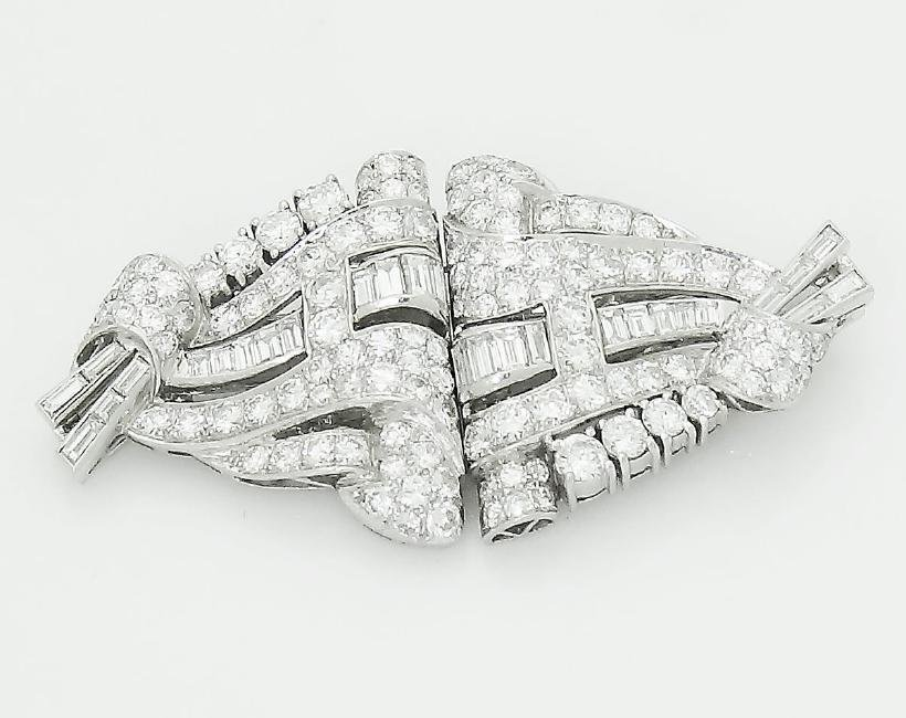 Cartier 1920s Platinum 6.00 TCW VVS/VS Clarity Diamond