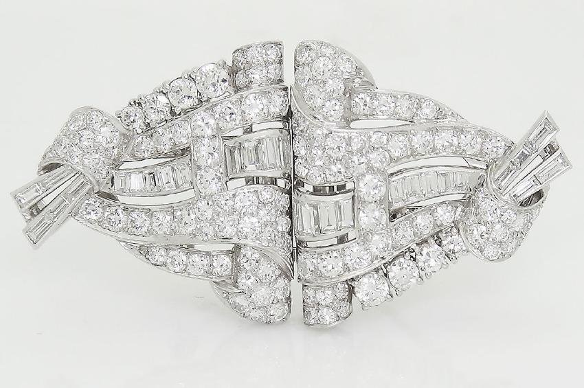 Cartier 1920s Platinum 6.00 TCW VVS/VS Clarity Diamond - 2