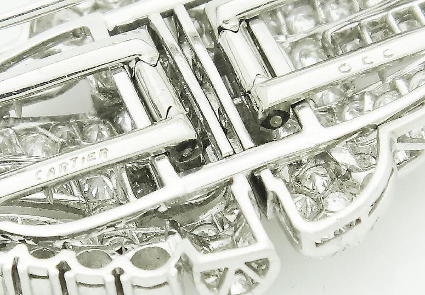 Cartier 1920s Platinum 6.00 TCW VVS/VS Clarity Diamond - 4