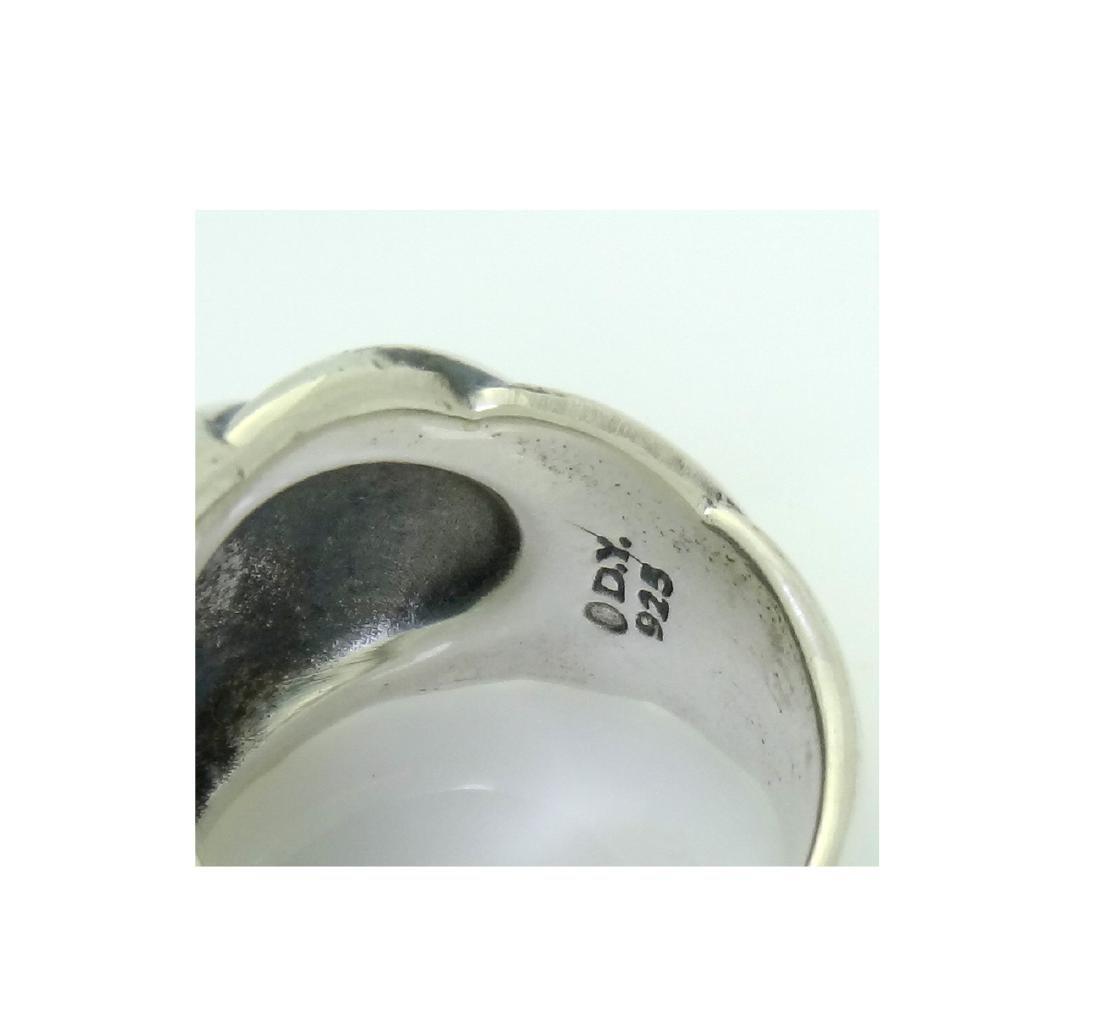 David Yurman 925 Sterling Silver Hampton Cable Ring Sz6 - 3