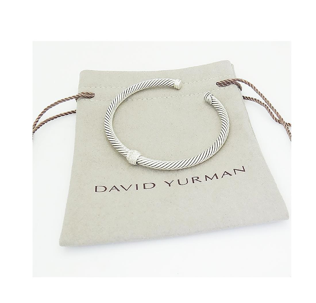 David Yurman 925 Sterling Silver Cable Classics 4mm - 4