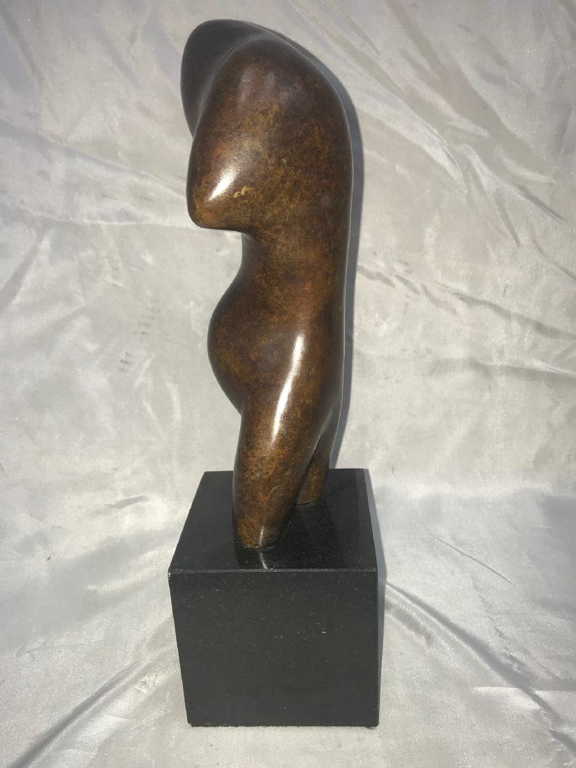ABSTRACT BRONZE SCULPTURE SIGNED ARP - 2