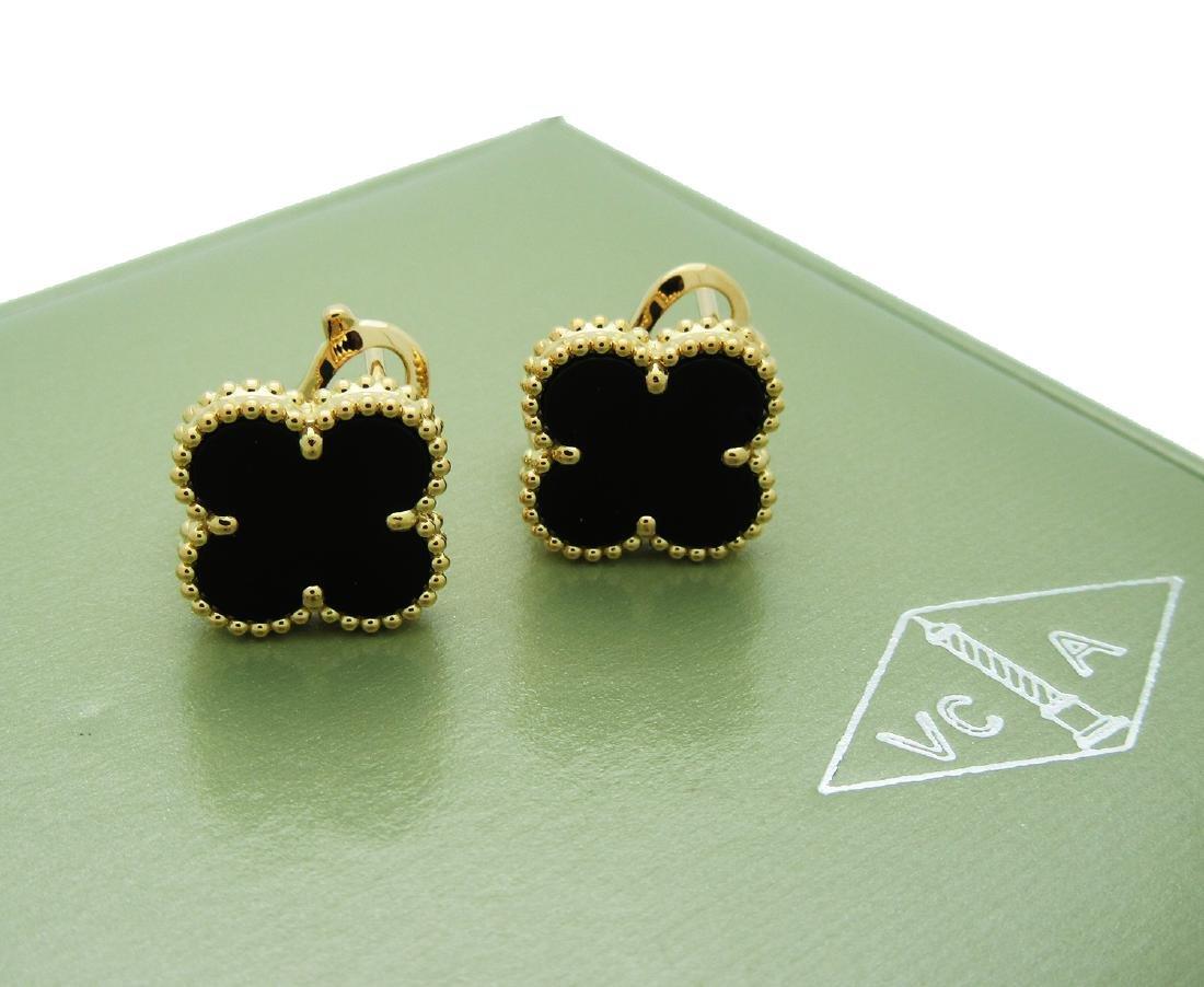 Van Cleef & Arpels   Vintage Alhambra Black Onyx