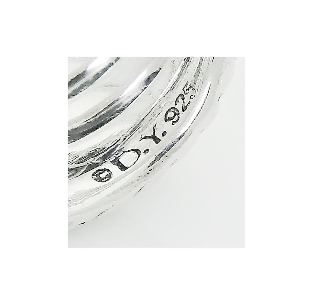 DAVID YURMAN Sterling Silver Confetti Crossover Diamond - 3