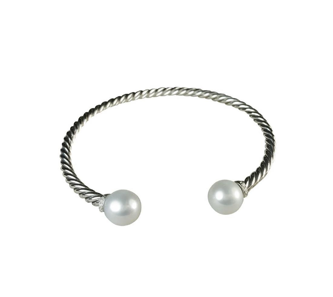 David Yurman 925 Sterling Silver Solari Pearls &