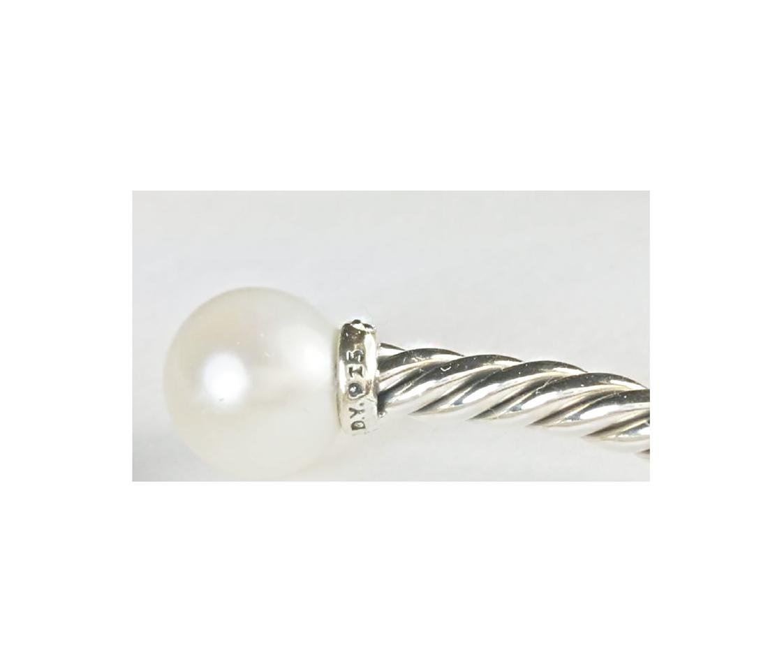 David Yurman 925 Sterling Silver Solari Pearls & - 2