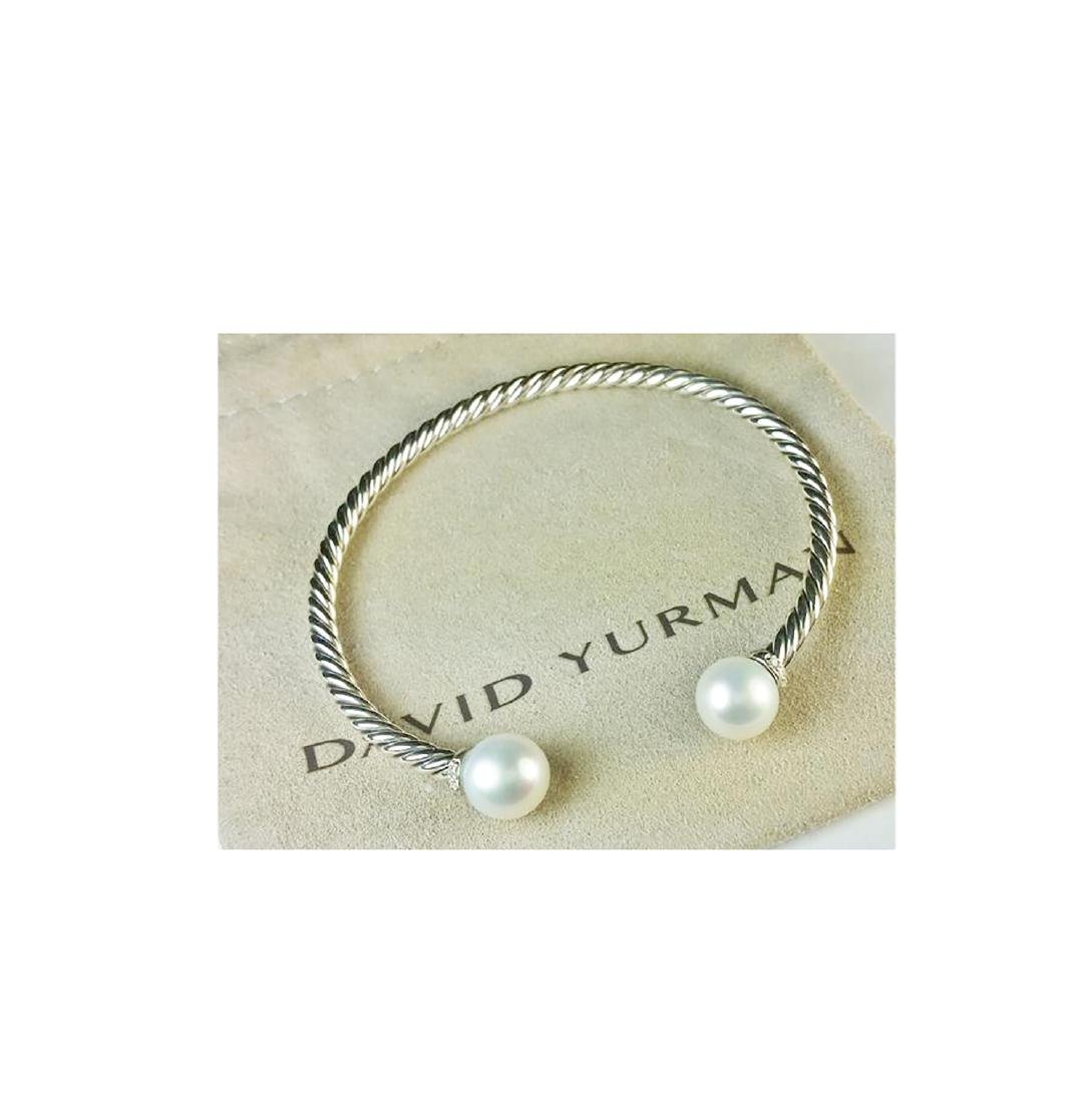 David Yurman 925 Sterling Silver Solari Pearls & - 3