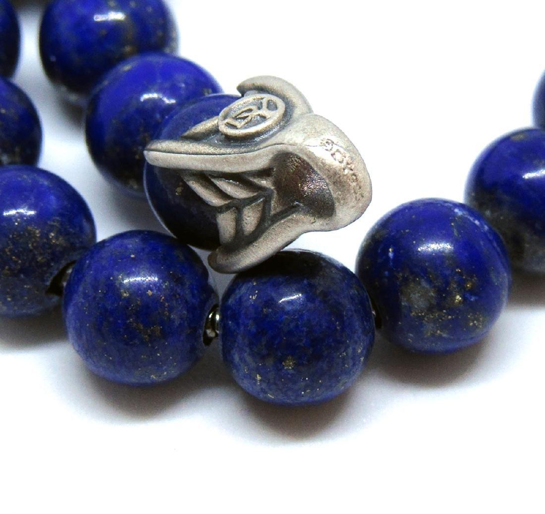 DAVID YURMAN Sterling Silver Spiritual Beads Bracelet - 4