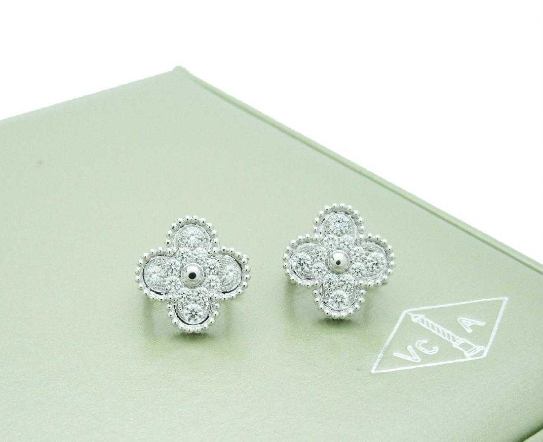 297a4cd696281 Van Cleef   Arpels Vintage Alhambra Earrings