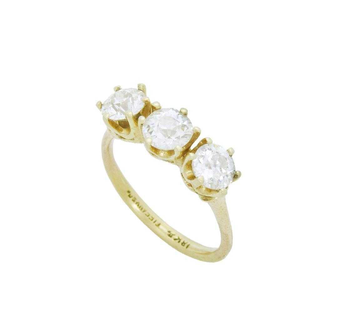Tiffany & Co 18k Yellow Gold approx 1.5TCW Diamond Band - 2