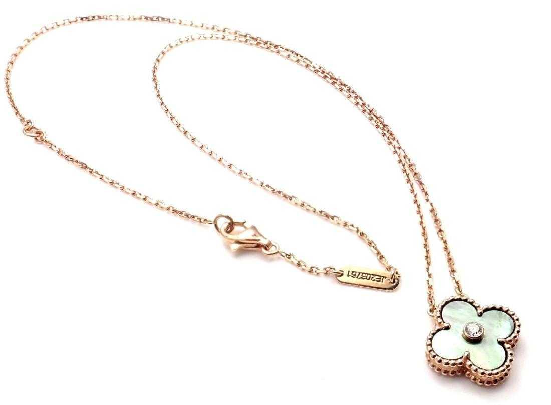 35845c2f1b416 Van Cleef   Arpels Alhambra Diamond Grey Mother of