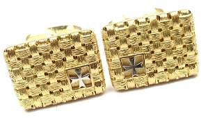 Vacheron Constantin 18k Yellow Gold Cufflinks