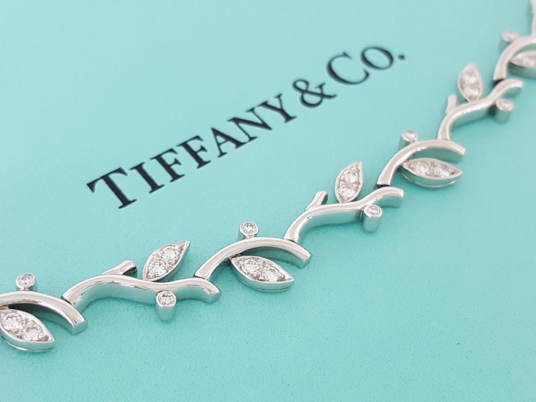 Tiffany & Co Garland Platinum 2.25ct Diamond Necklace - 2