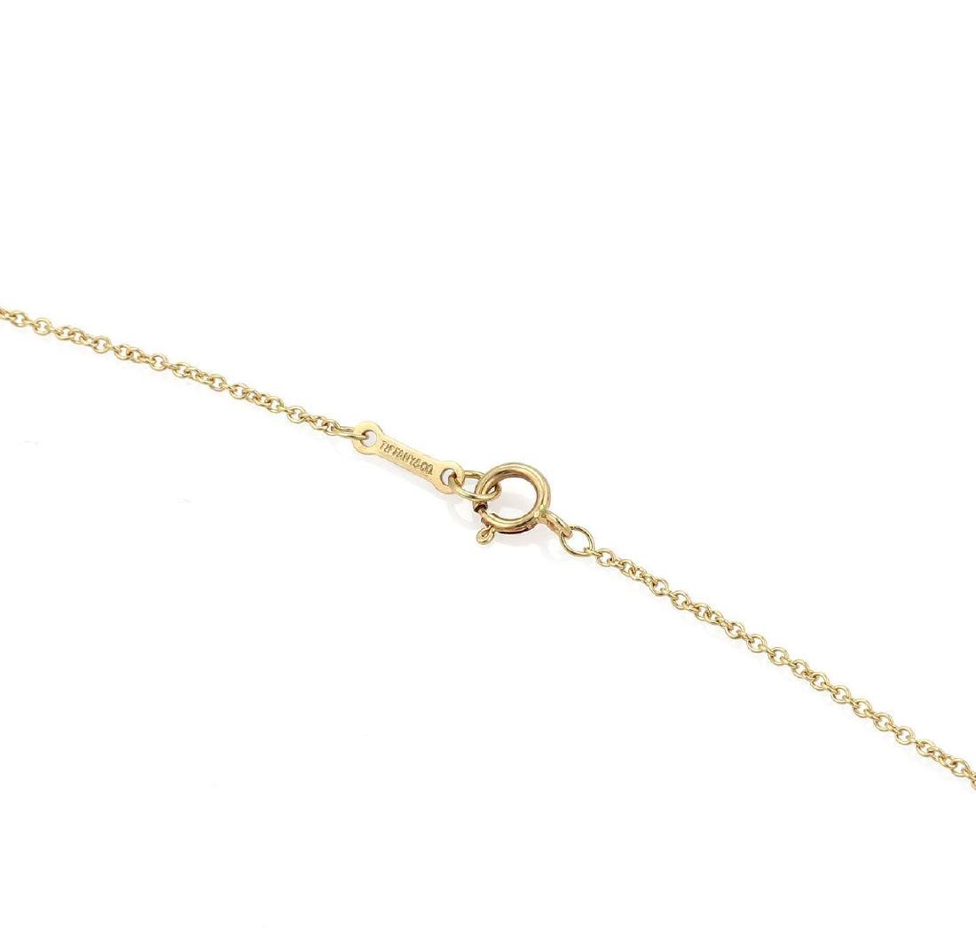 """Tiffany & Co. Picasso """"Aries"""" 18k Gold Pendant & Chain - 3"""